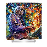 Ray Charles Shower Curtain