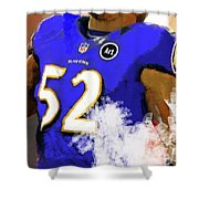 Ray Lewis  Shower Curtain
