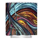 Ray Of Hope 2 Shower Curtain