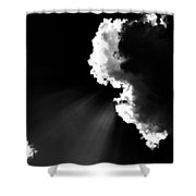 Ray Of Light Shower Curtain