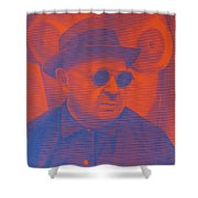 Raybanned Shower Curtain