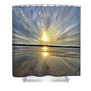 Rayed Marsh 2 Shower Curtain