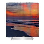 Rays From Heaven Shower Curtain