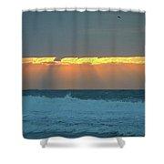 Rays I I Shower Curtain