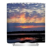 Rays Of Glory Shower Curtain