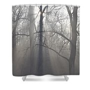 Rays Of Hope Shower Curtain by Bill Cannon