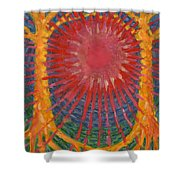 Rays Of Life Shower Curtain