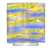 Rays Of Love Shower Curtain