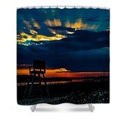 Rays Of Sunshine Shower Curtain