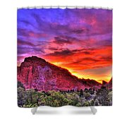 Rays Of The Gods Shower Curtain