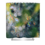 Rays Up Close Shower Curtain
