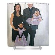 Razi And Her Family Shower Curtain