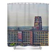 Rca Victor - Camden New Jersey Shower Curtain