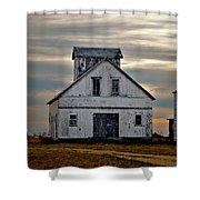 Re-purposed Grainery Shower Curtain