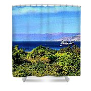 Rea Sea Aqaba Shower Curtain