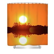 Reach Out Two  Shower Curtain