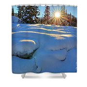 Reaching For Heat Shower Curtain