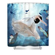 I Dreamt I Could Fly Shower Curtain