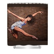 Reaching New Heights Shower Curtain