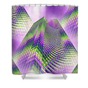 Reaching Skyward Shower Curtain