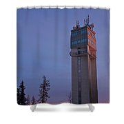 Reaching The Moon V2 Shower Curtain