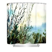 Reaching The Sky Shower Curtain