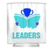 Readers Are Leaders Shower Curtain