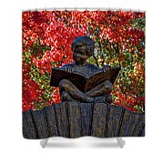 Reading Boy - Santa Fe Shower Curtain