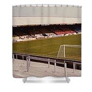 Reading - Elm Park - Norfolk Road Stand 4 - 1970s Shower Curtain