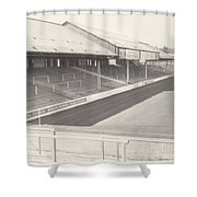 Reading - Elm Park - Tilehurst Terrace 1 - Bw - 1970 Shower Curtain