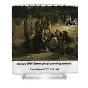 Reading Of The 1861 Manifesto Shower Curtain
