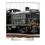 Reading Rr Engine 467 Shower Curtain