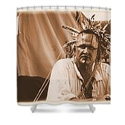 Ready For Battle Shower Curtain