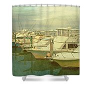 Ready For Fishing  Shower Curtain