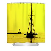 Ready For Sails  Shower Curtain