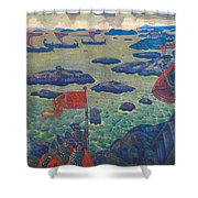 Ready For The Campaign, The Varangian Sea Shower Curtain