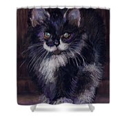 Ready For Trouble Shower Curtain