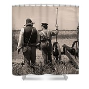 Ready On The Right Shower Curtain