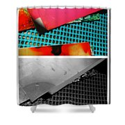 Ready Red  Shower Curtain