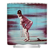 Ready To Bat Shower Curtain
