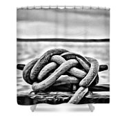 Ready To Dock Shower Curtain