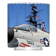 Ready To Launch Shower Curtain