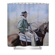 Ready To Rope Shower Curtain