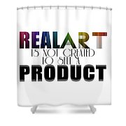 Real Art Shower Curtain