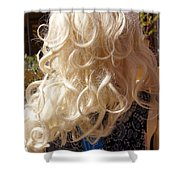 Real Blond Shower Curtain
