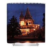 Real Life Minas Tirith Budapest Shower Curtain