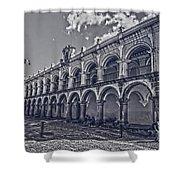 Real Palacio De Los Capitanes Generales Shower Curtain