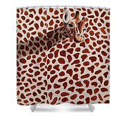 Real Spots 2016 Shower Curtain