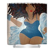Real Woman Shower Curtain