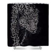 Realistic Cheeta Shower Curtain